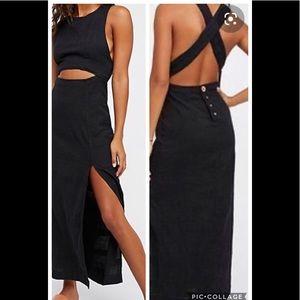 NWOT FP maxi dress